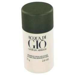 Acqua Di Gio By Giorgio Armani Deodorant Stick 2.6 Oz (pack of 1 Ea)