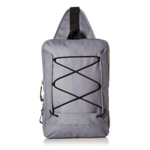 Buxton Thor Sling Waterproof Utility Hiking Daypack Backpack Gray