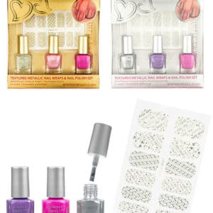 Case of [48] Simply Sweet Nail Polish & Wrap Set